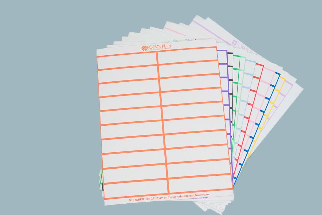 Laser Sheet Tags - Nonstick