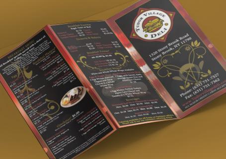 Take-out menus